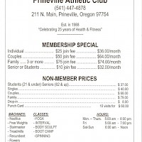 Prineville Prineville Athletic Club
