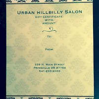 Prineville Urban Hillbilly Salon